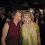 with Sophie Milman at JUNO press conference