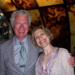 Fern Lindzon with Ken Taylor